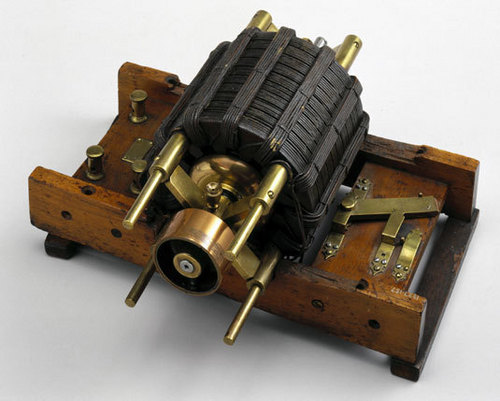 Another View of Original Tesla Induction Motor