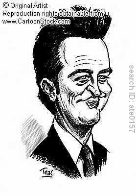 Chandler Cartoon