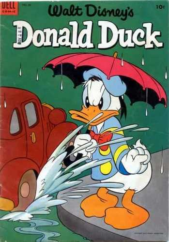 Donald pato Comic Book #33