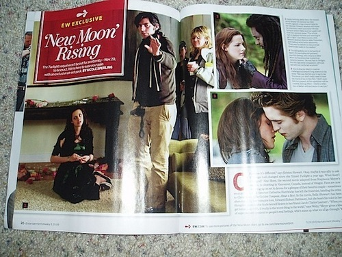 Exclusive New Moon artigo in Entertainment Weekly!