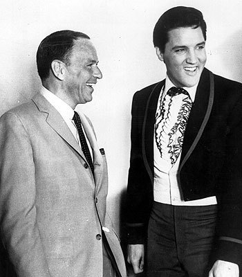 Frank Sinatra and Elvis 1965