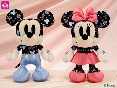 Mickey and Minnie anak patung
