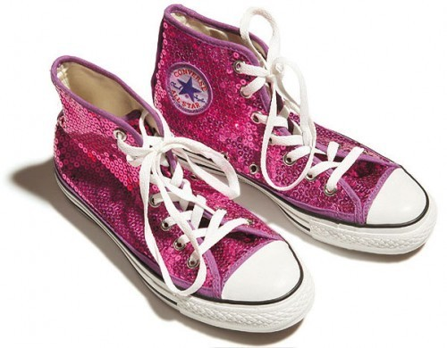 kulay-rosas sequin converse's