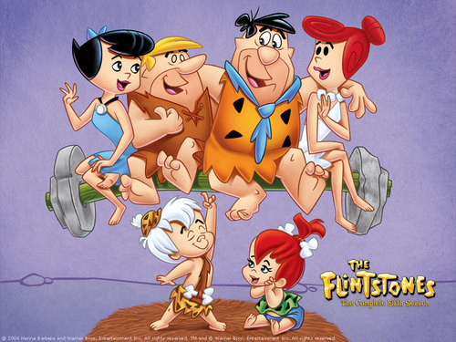 The Flintstones kertas dinding