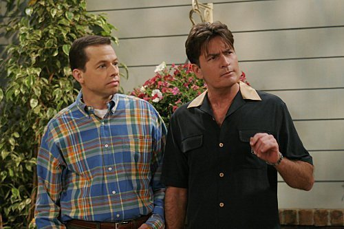 Charlie and Alan Harper