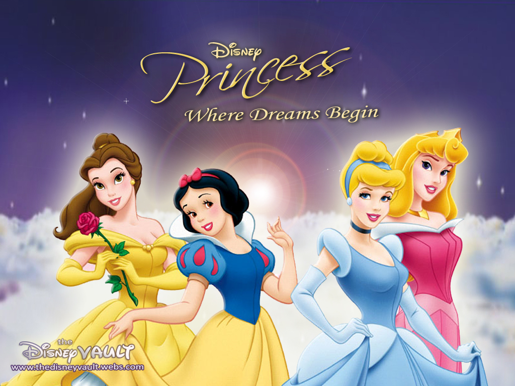 Disney Princess fond d'écran