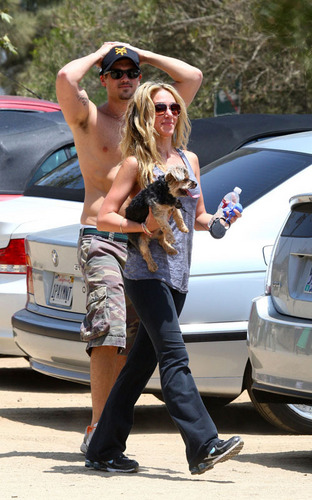 Haylie Duff with Nick Zano