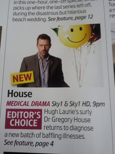 Hugh Laurie - Tv Mag