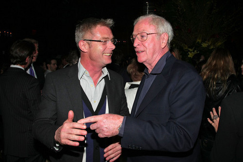Michael Caine and Stephen Daldry