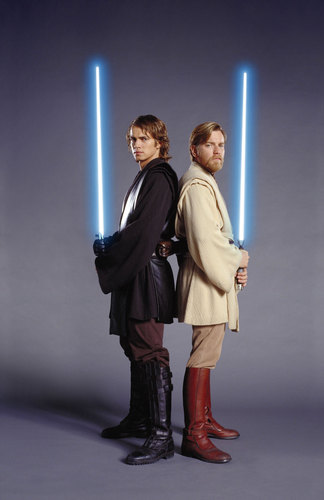 Obi Wan and Anakin