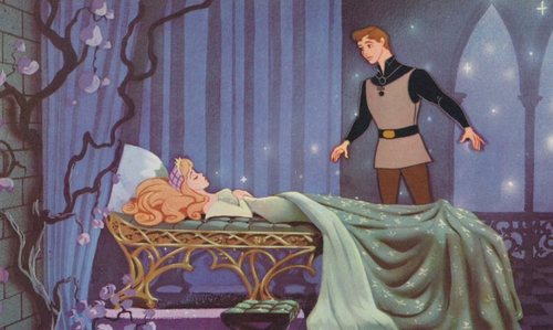 Sleeping Beauty and Prince Phillip