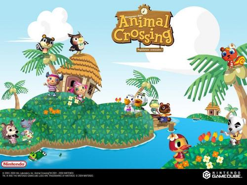 Animal Crossing wallpaper