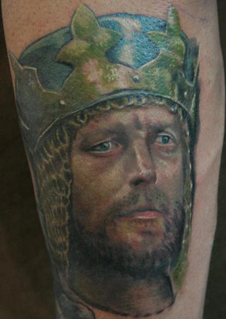 King Arthur tattoo