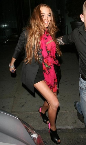 Lindsay Out in Hollywood