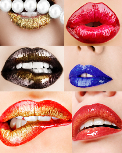 Lip Collage