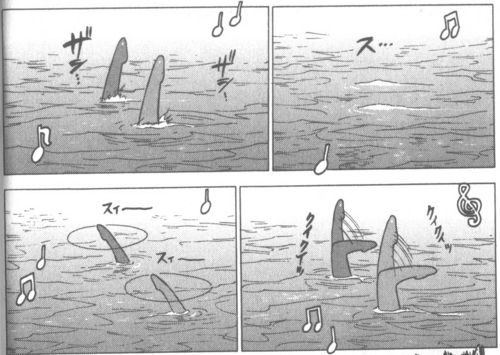 manga Vol 3: Synchronized Swimming