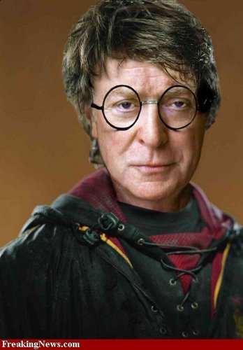 Michael Caine as Harry Potter