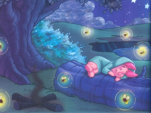 Piglet Nightlights Wallpaper
