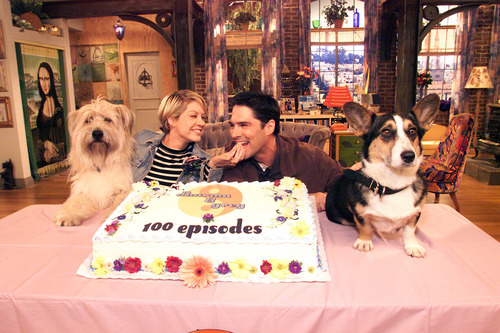 TG in Dharma and Greg- Behind the Scenes