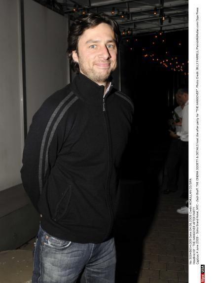 "Zach at THE CINEMA SOCIETY & DETAILS host the after party for ""THE HANGOVER"