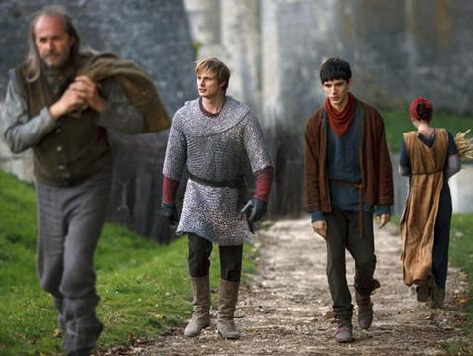 Arthur/Merlin: Walking