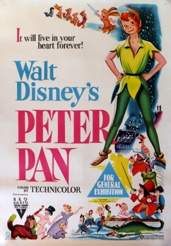 Original Peter Pan Poster