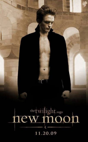 Edward New Moon Official Poster