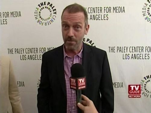 Hugh Outside The Paley Center