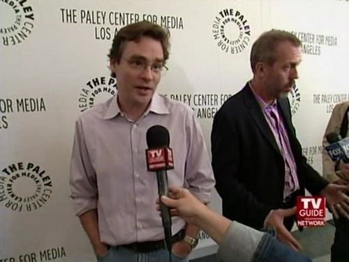 The cast Outside The Paley Center