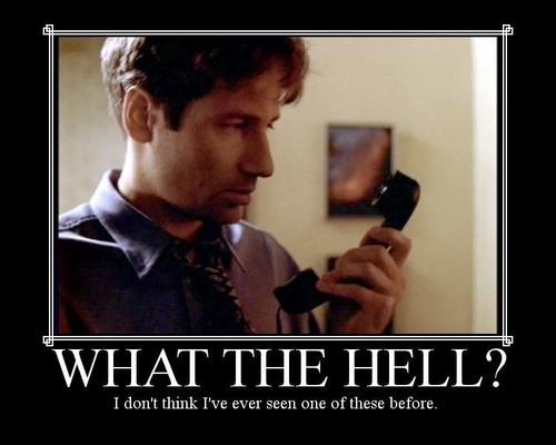 x-files motivational posters