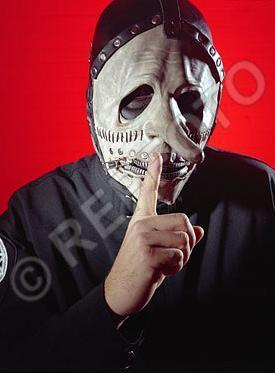 Chris Fehn, the drummer, acid
