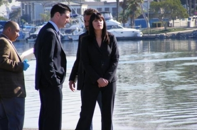 Paget/Thomas- Behind the scenes