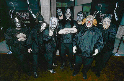 Slipknot in studio