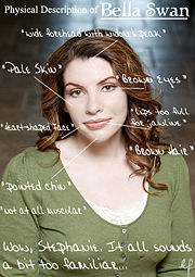 Stephenie Meyer - 150 lbs = Bella 白鳥, スワン