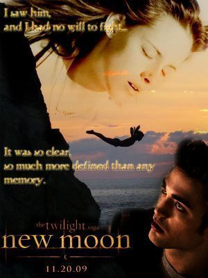 edward and bella new moon poster