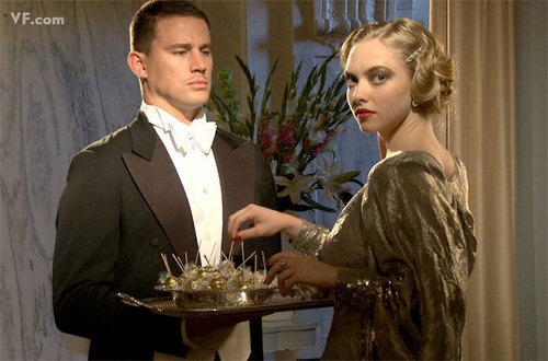 Channing Tatum and Amanda Seyfried Featured in August 2009 Vanity Fair