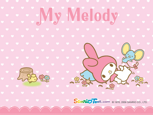 My Melody Mini Обои