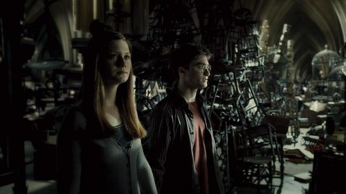 New Half-Blood Prince stills - Ginny and Harry in the Room of Requiremants