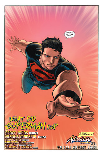 Superboy in Adventure comics #1