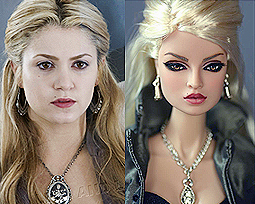 the Barbie version of Rosalie