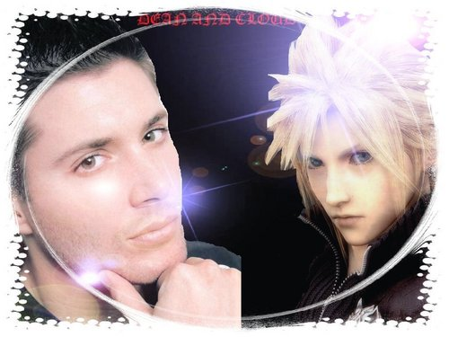 the hottest guys (dean and cloud)