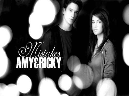 Amy and Ricky, black & white