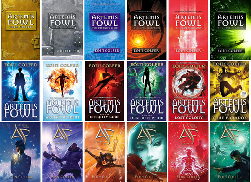 Artemis Fowl Covers: Comparison