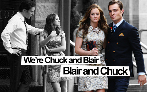 Chuck and Blair season3 wallpaper