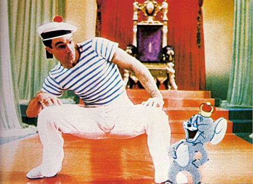 Gene Kelly And Jerry Mouse