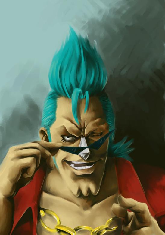 Franky - One Piece Fan Art (7013511) - Fanpop