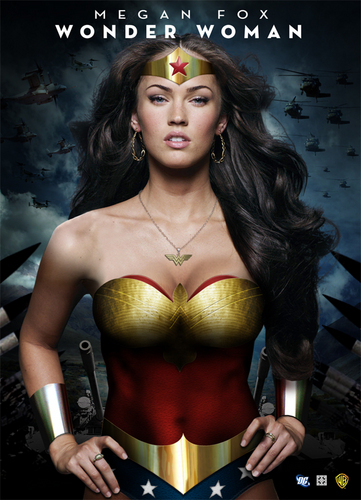 Megan Fox as Wonder Woman