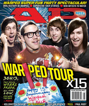 3OH!3 Covers AP Magazine