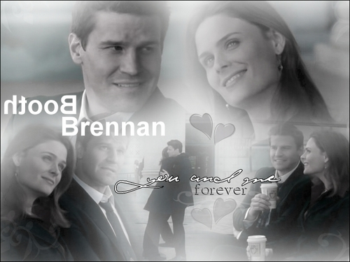 Brennan and Booth<3