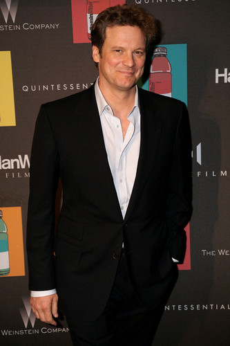 Colin Firth at Quintessentially Dinner Party